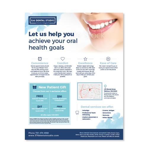 Dental Studio Leaflet