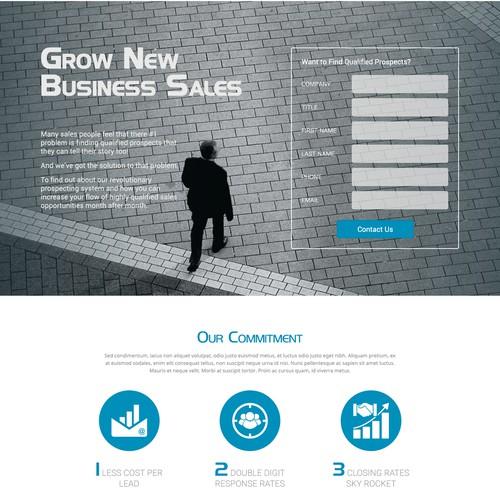 Exactprospects.com Landing Page