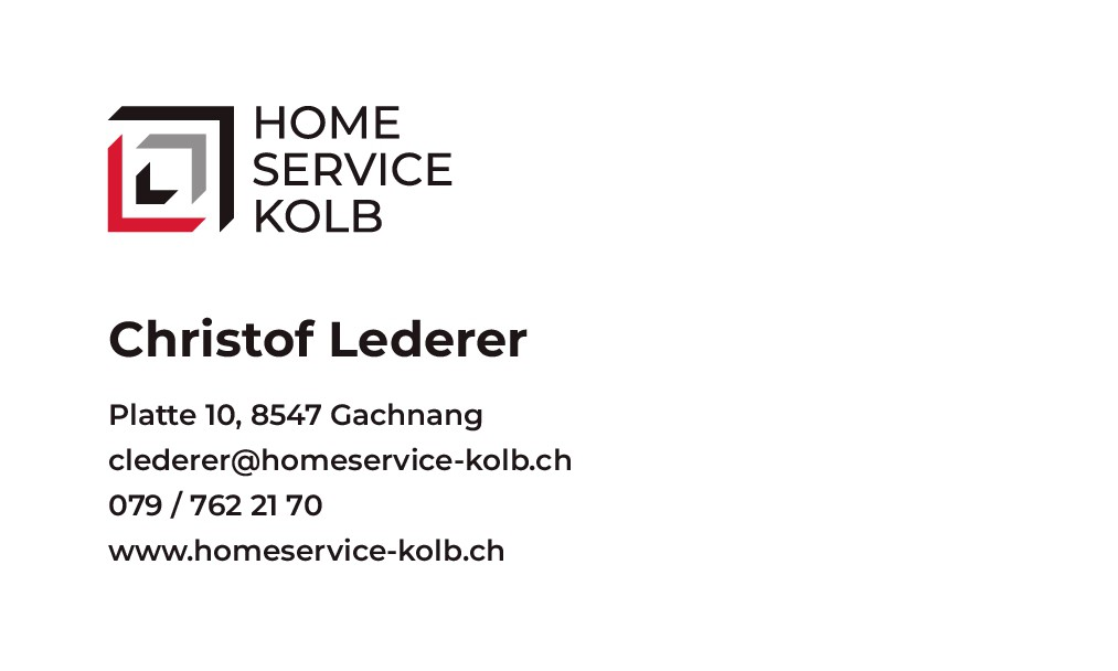 After we received a new logo, we also need new business cards