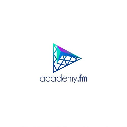 Academy Fm logo concept