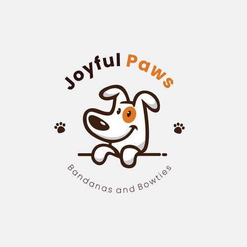 diseño de logo para joyful paws