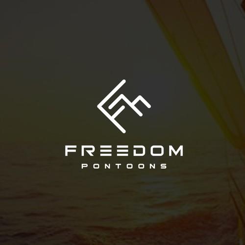 Freedom Pontoons Logo