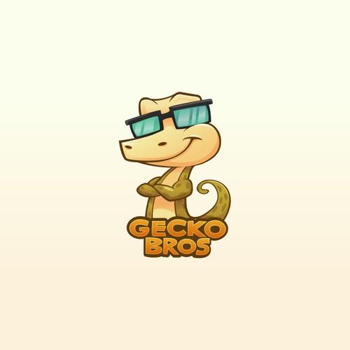 GecKO Bros. Brand Mascot Design