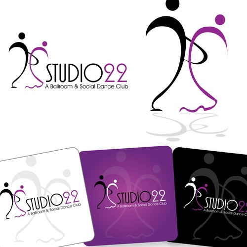 Ballroom & Latin Dancesport Studio-Logo, Bus. Cards & Stationary