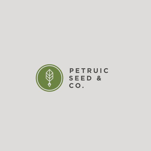 Geometric logo for seed farm