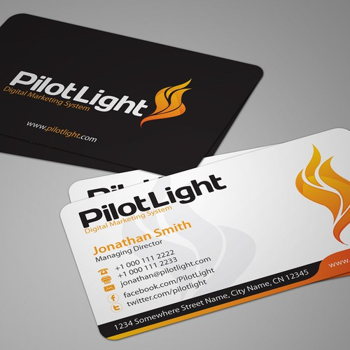 Help Pilot Light with a new stationery