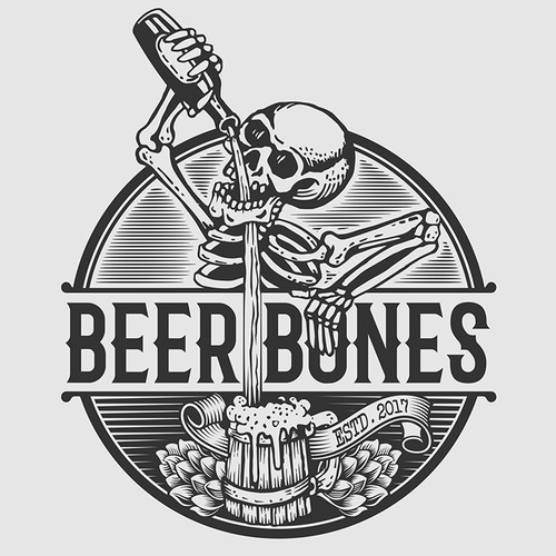 Design a Cool Logo for New Craft Beer Taproom