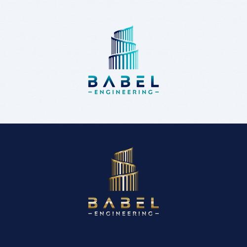 Babel Engineering Logo Design