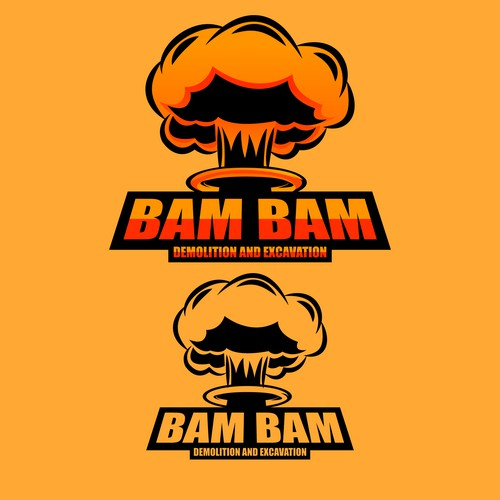 Powerful and bold logo for Bam Bam