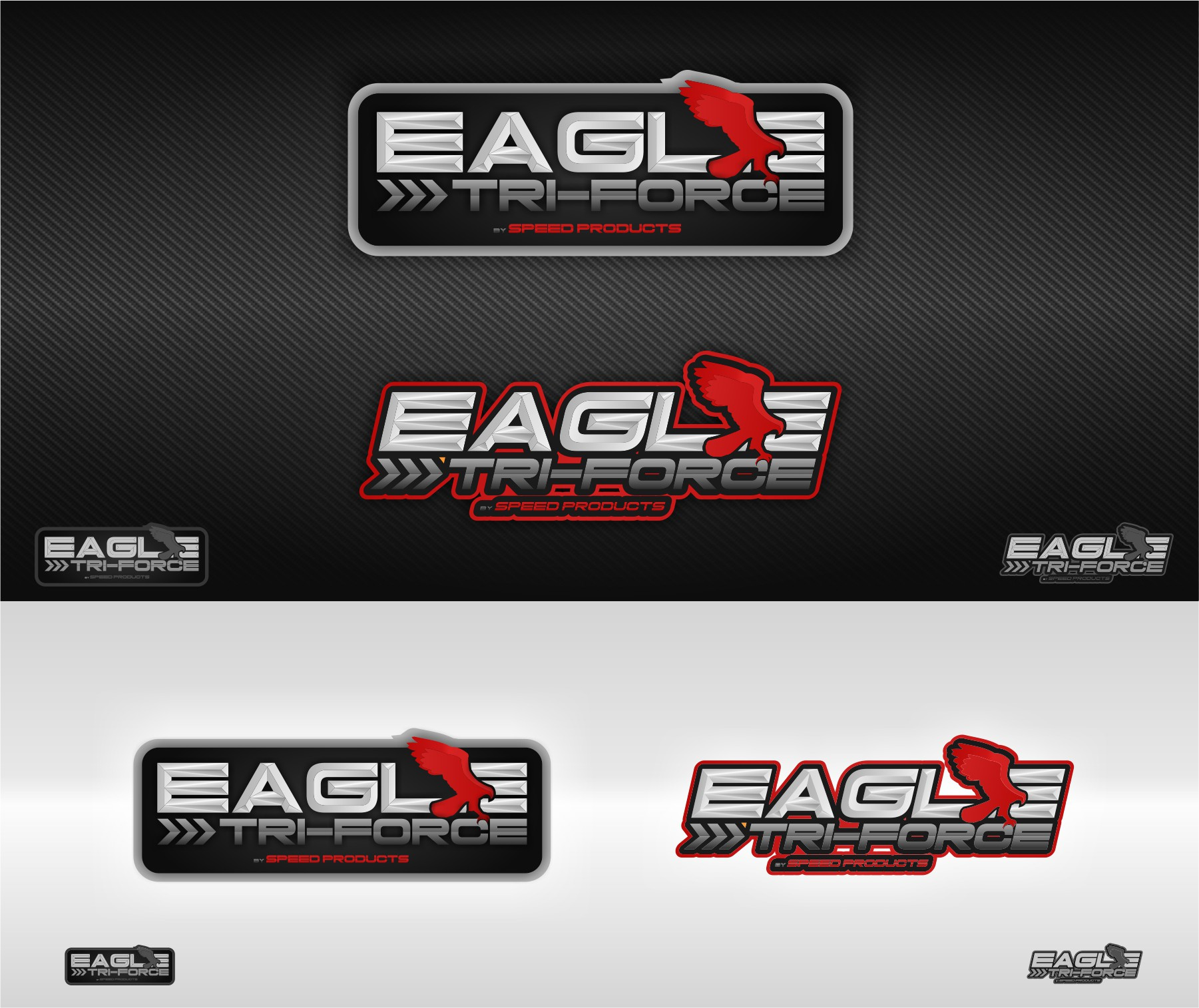 New Aggressive Logo Design for our new Motorcycle Exhaust!