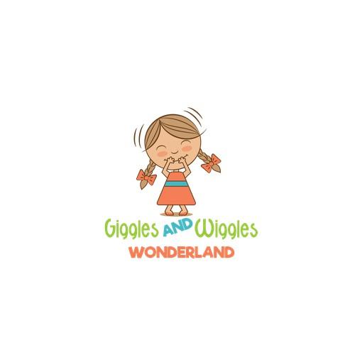 Giggling Girl Logo