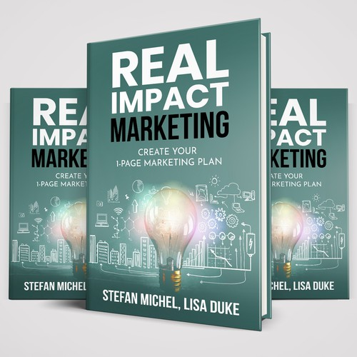 "Cover for ""Real Impact"" management book series"