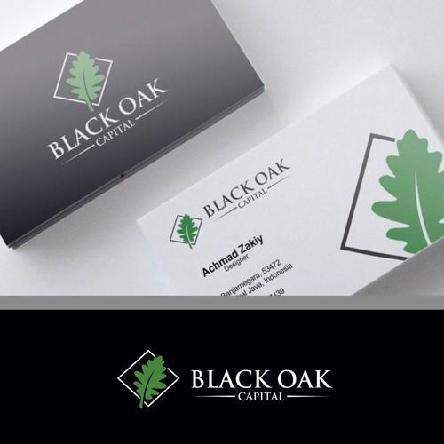 Logo Design for Black Oak Capital