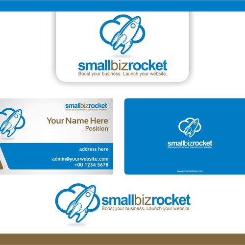 Help Small Biz Rocket with a new logo