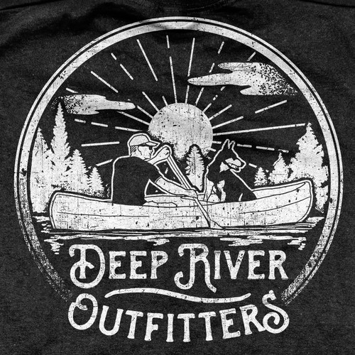 Deep River Outfitters Clothing and Gear T-shirt