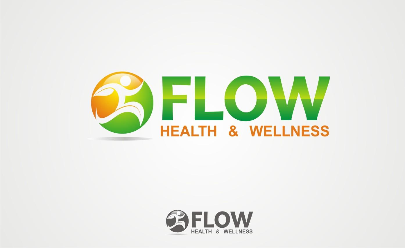 Create the next logo for Flow Health & Wellness