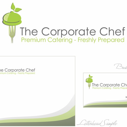 The Corporate Chef needs a new stationery