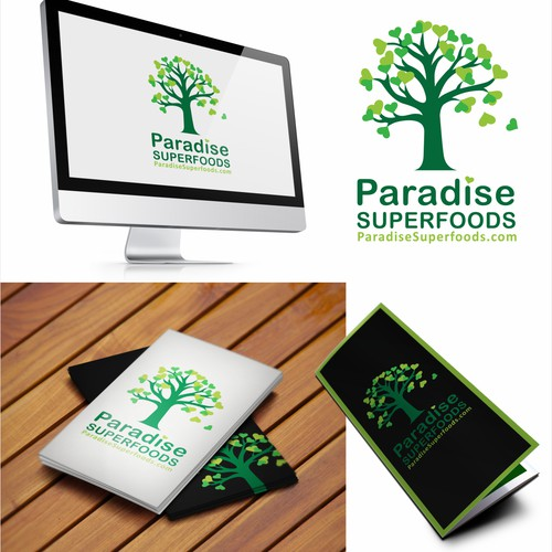 Help Paradise Superfoods with a new logo