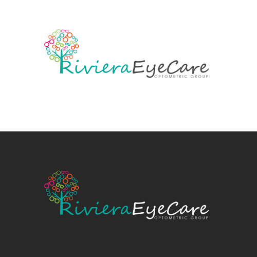 Unique family friendly optometry office logo