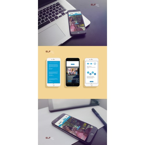 Well converting landing page needed for International Telecom service