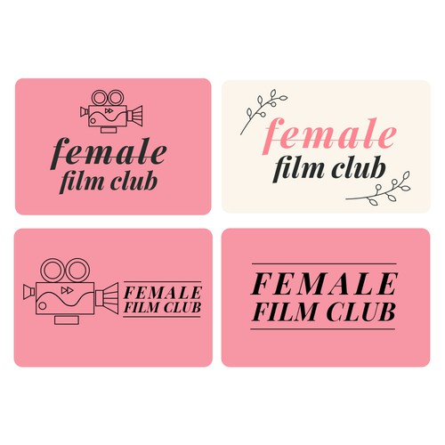 Variations of the logo
