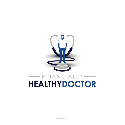 Unique logo of Financially Healthy Doctor
