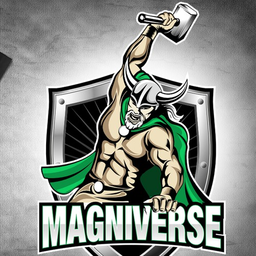 Magniverse needs a strong fitness logo design