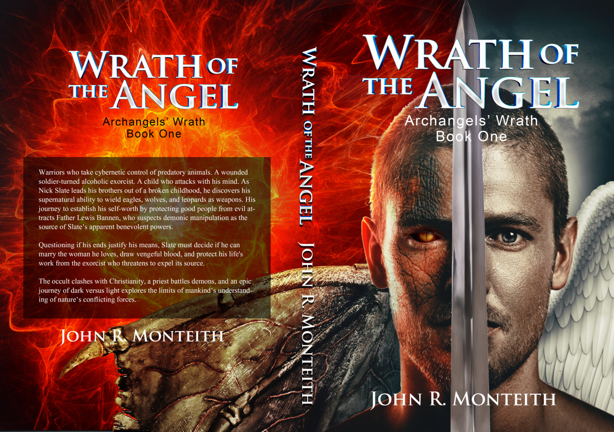 """Book Covers (ebook, audio, 6""""x9""""paperback) with source files: Wrath of the Beast"""