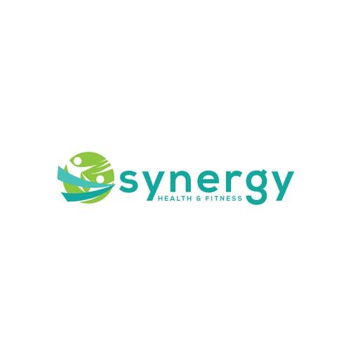 Synergy Health & Fitness Sample Logo
