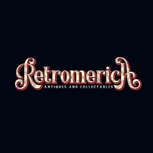 logo retro typography