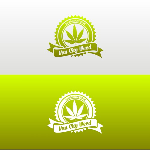 Vintage Logo for Marijuana Dispensary