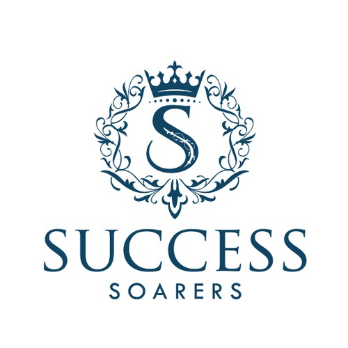 A elegant logo of Success Soarers