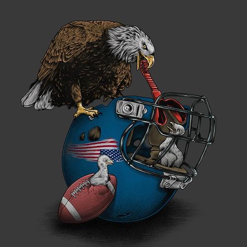 Wild American Football