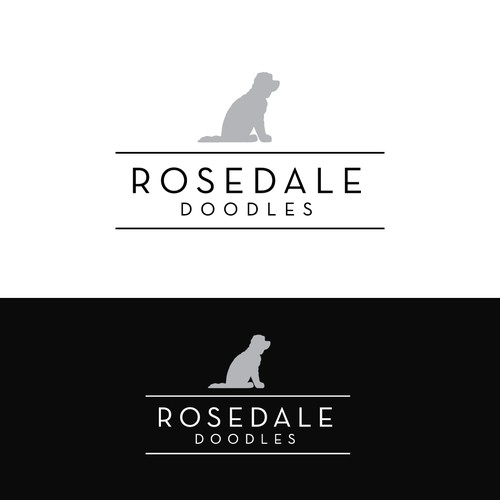 Logo for dog breeder