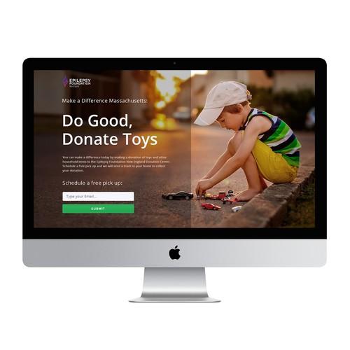 Webdesign for a non-profit organization