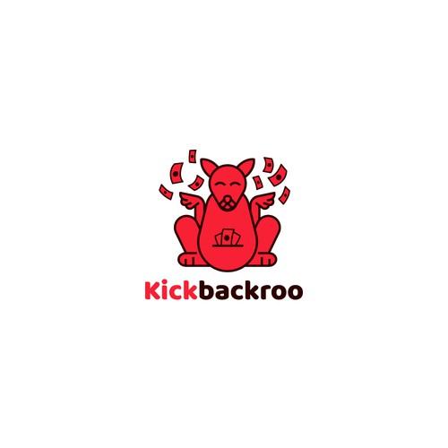 Kickbackroo mascot design