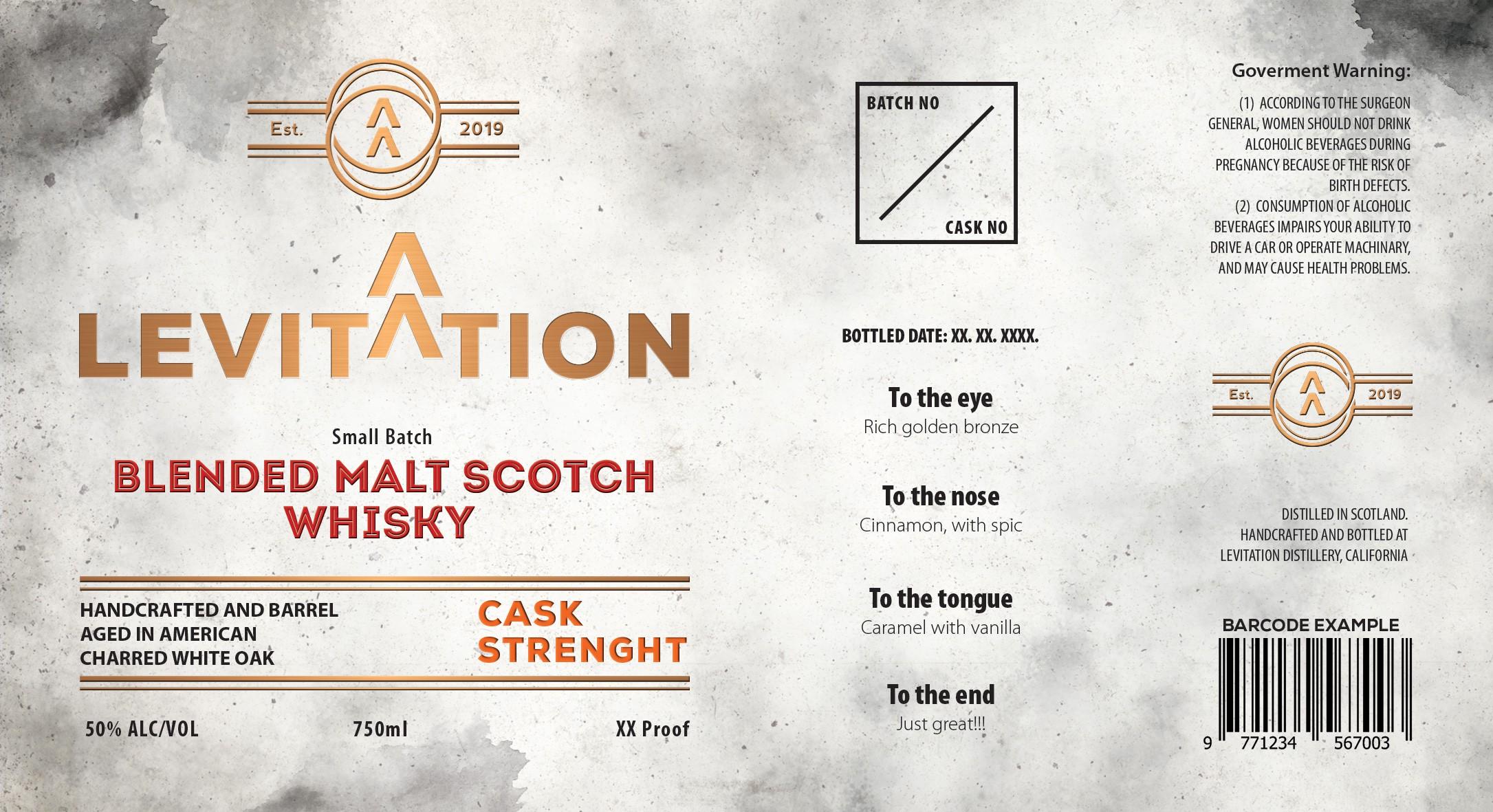 Branding for Whiskey brand