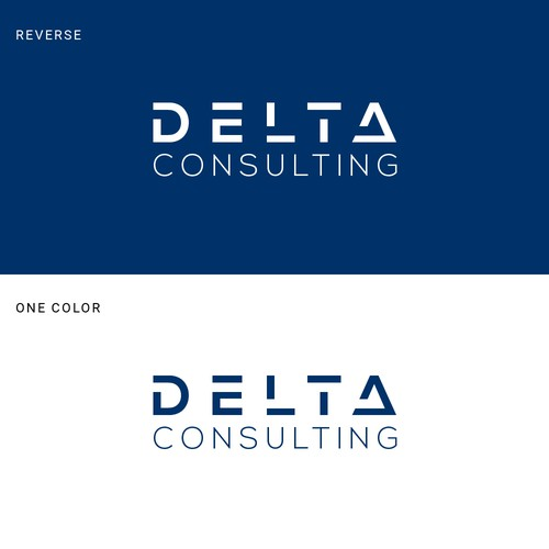 Modern Logo Concept for DELTA Consulting