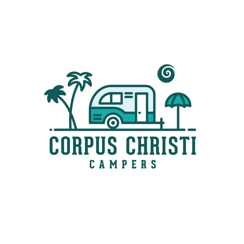 Logo for small camper rentals