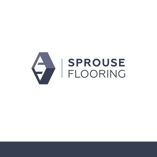 logo concept for Sprouse Flooring