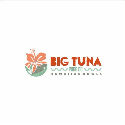 Logo concept for Big Tuna Poke.co