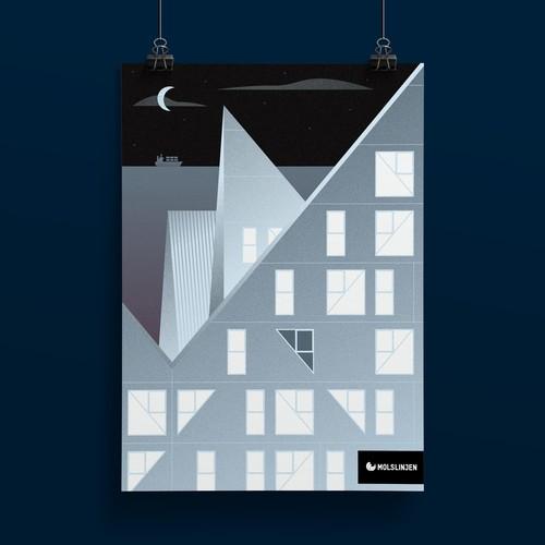 Aarhus Harbour poster