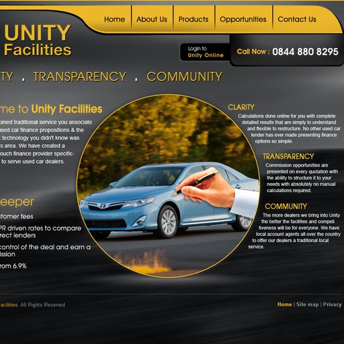Unity Facilities Design
