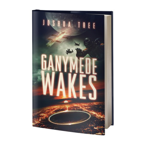 Book cover: Ganymede Wakes