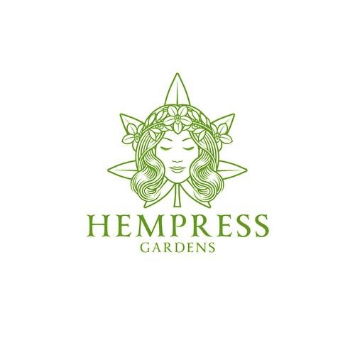 Hempress Gardens Logo