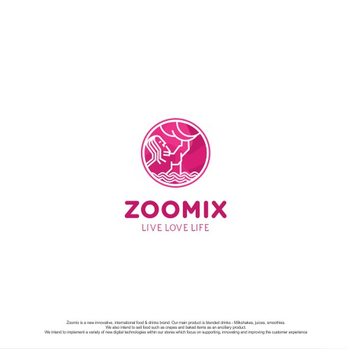 Vibrant, minimalistic logo needed for Zoomix