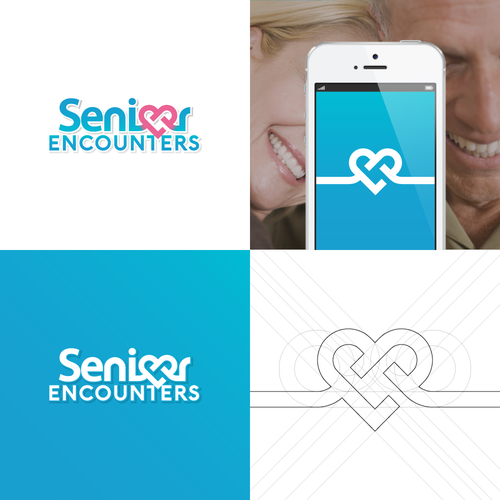 Logo for over 50's dating site.