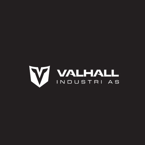 industrial company, with powerfull logo