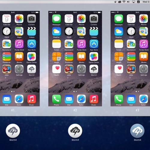 Storm4 Icon Design