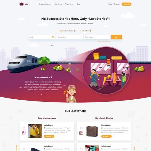 4 Pages design for Jaidansmavalise